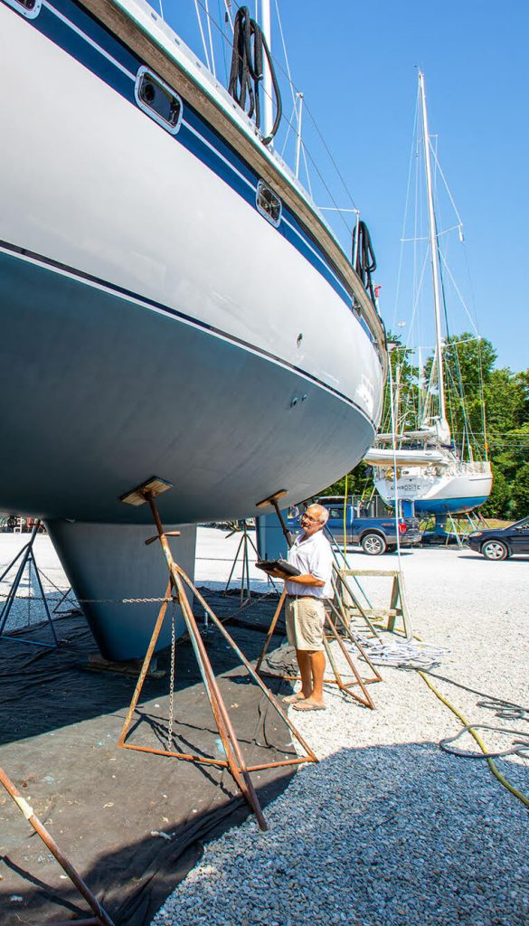 Choose the right surveyor for your yacht